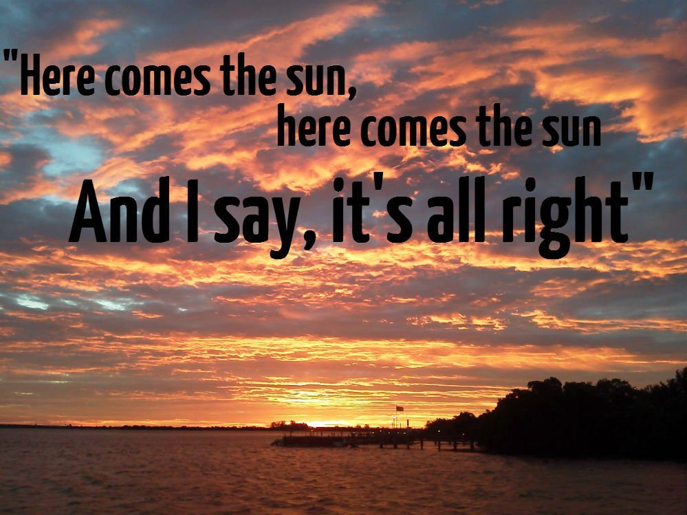 The Beatles - 'Heres Comes The Sun' (linesinaconversation)