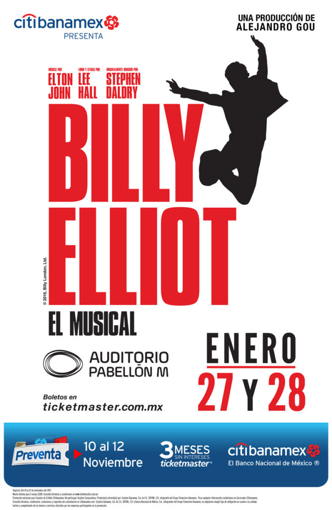 Billy Elliot el Musical Monterrey