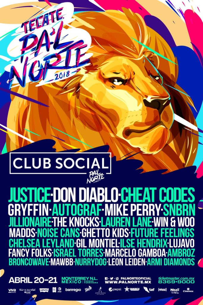 Pal Norte 2018 club social