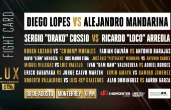 LUX Fight League en Monterrey