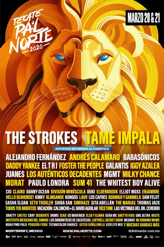 Pal Norte 2020 cartel